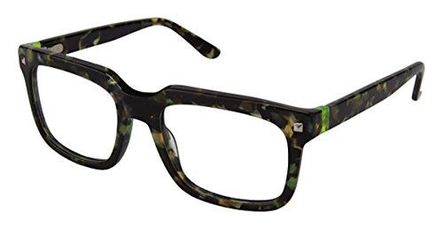 gx by GWEN STEFANI Women's GX 027 Green Marble 51mm Eyeglasses, Size...