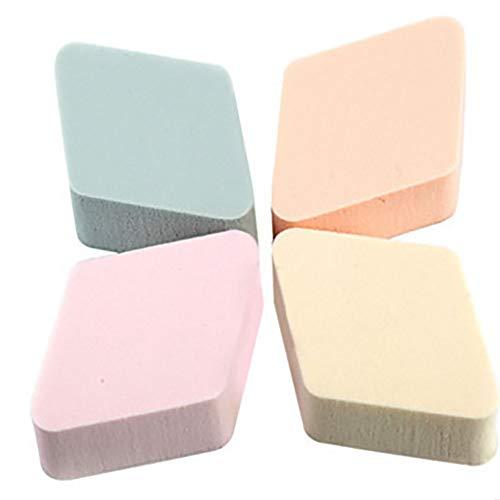 4pcs / pack maquillage éponges en poudre beauté mélangeur mousse applicateur Éponge de Maquillage Sans Latex et Hypoallergénique (aléatoire)