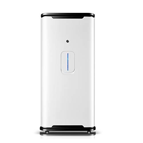 MEI XU Generador de oxígeno, el oxígeno portátil Inicio Alquiler Silencio generador de oxígeno Máquina 3L Barra de oxigeno (Color : White)