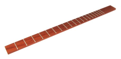Cigar Box Guitar Fretboard - Exotic Padauk hardwood, 25' scale with 20 frets - Made in the USA!