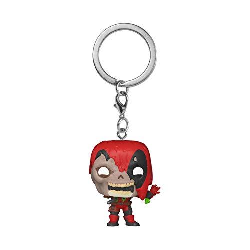 Funko 49131 POP Keychain: Marvel Zombies-Deadpool Sammelbares Spielzeug, Mehrfarben
