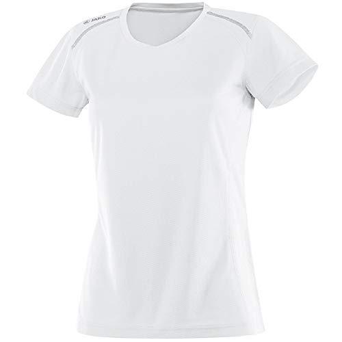 JAKO Damen T-Shirt Run, weiß, 42-44