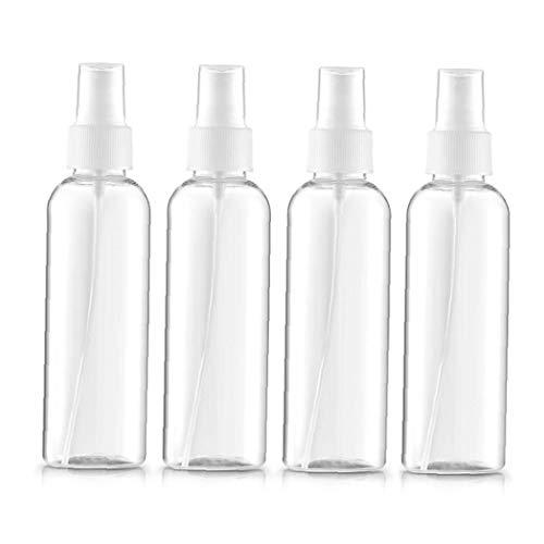 4pcs / Set Transparente Atomizador Líquido Envase para Los Aceites Esenciales Botella...
