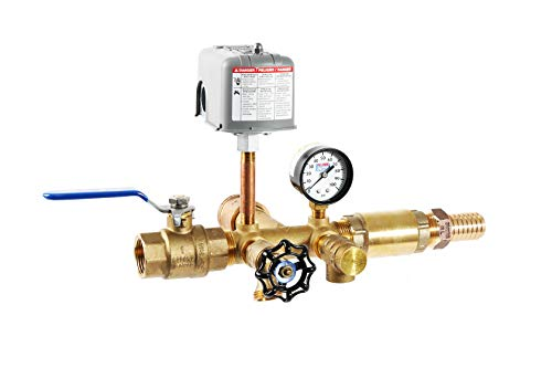 """Plumb eeze Pressure Tank Installation Kiit with 1"""" Brass Tank Tee will fit tanks with side outlet connection"""