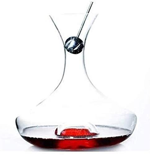 Jarra de whisky Accesorios de decantador de vinos Dispensador de cristal libre de plomo Whisky Brandy Aeroator Tinto Vino del vino Gifts para el hogar Fast Decanter 1500ml Regalo de whisky para hombre