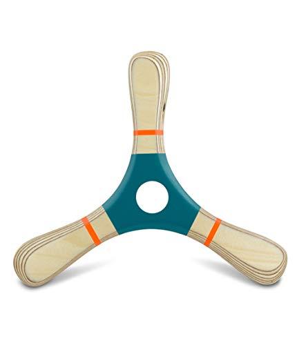 Bumerang PROPELL 4, martha marine, Holz, Rechtshänder, Holzspielzeug von LAMEY bumerang