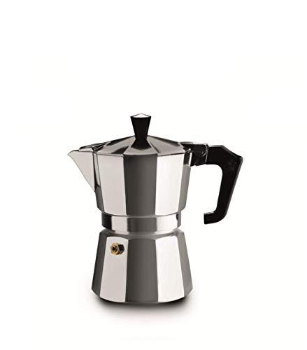 Pezzetti Stove Top Moka Espressokocher für 1 Tasse,