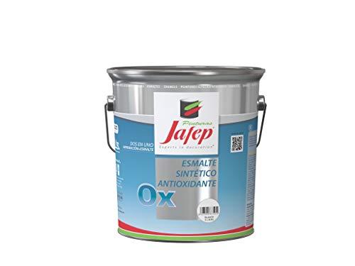 JAFEP Esmalte Metalico Antioxidante Ox Efecto Forja Negro 4 L