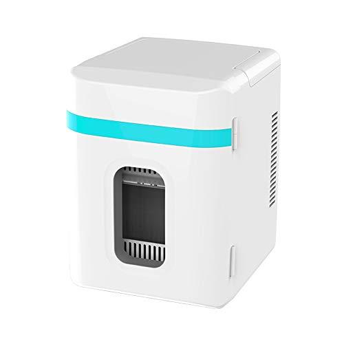 Ldbx Mini Kühlschrank Getränkekühlschränke10l Tragbare Kühlbox Mit Kühl- Und Warmhaltefunktion 220-240V/12V DC Elektrische Kühlbox Für Auto Camping Und Hause