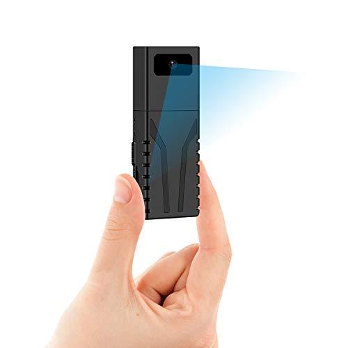 ODLICNO Mini Camara Espia Oculta 1080P Full HD Camaras de Seguridad WiFi Interiores Portátil con Detector de Movimiento,Grabación en Bucle y Control Remoto Camara de Vigilancia...