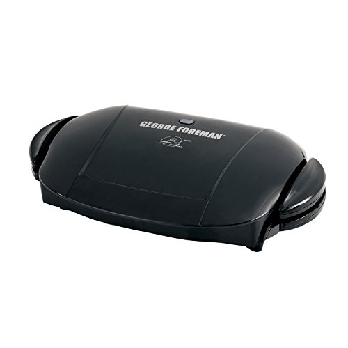 George Foreman GRP0004B Removable Plate Grill, Plastic, Black