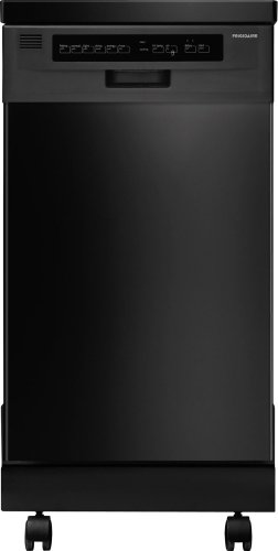 FFPD1821MB 18' Fully Integrated Portable Dishwasher with 6 Wash Cycles...