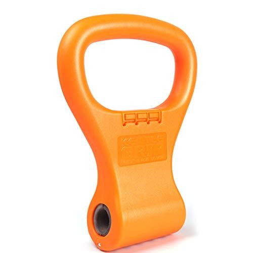 UYT - Manubrio Kettlebell con impugnatura a clip, regolabile, portatile, da viaggio, per fitness e fitness