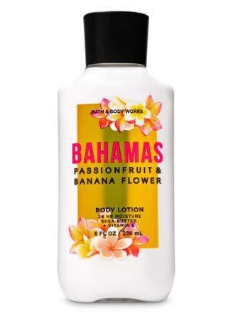 Bath and Body Works - Bahamas Passionfruit & Banana Flower - Daily Trio - Shower Gel, Fine Fragrance Mist & Body Lotion- New 2020