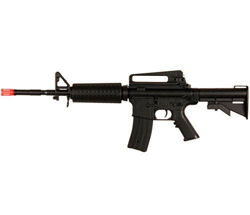 Well NEW D94S M4 A1 M16 AEG ELECTRIC AUTOMATIC AIRSOFT RIFLE GUN w/6mm BBs BB