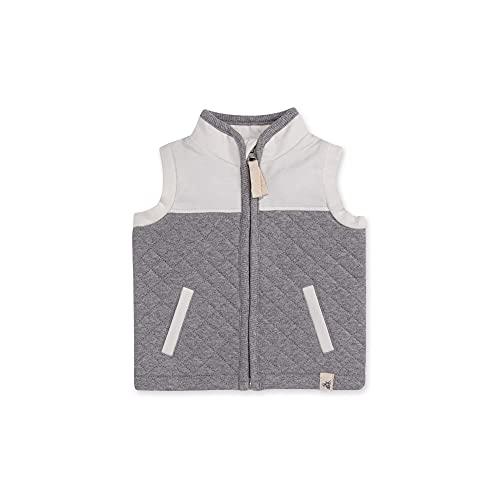 Burt's Bees Baby Baby Sweatshirts, Lightweight Zip-up Jackets & Hooded Coats, Organic Cotton, 12 Months White