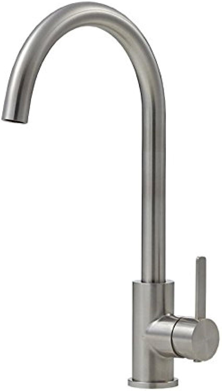 MEIBATH Wasserhahn Küche Spültisch Armatur Küchenarmatur Spültischarmatur Wasserkran Mischbatterie Edelstahl Hei und Kalt Wasserhahn