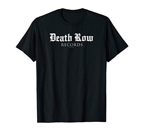 Death Row Records Blackletter Font Logo T-Shirt