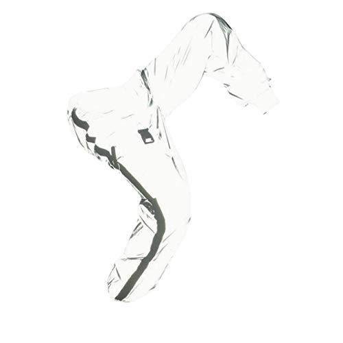 ELECTRI Mode pour Hommes Lumineux réfléchissant Hip Hop Street Dance Jogging Pantalon réfléchissant