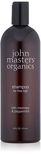 John Masters Organics Champú para Cabello Fino con Romero y Menta 473 ml