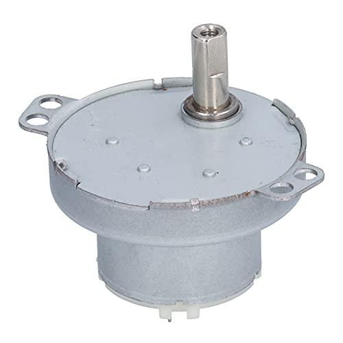 Agatige Motoriduttore 3.7V DC, Riduttore Micro Electric Gearing Box Forniture di Controllo Industriale per condizionatore d'Aria Ventilatore Elettrico 9RPM JS50T