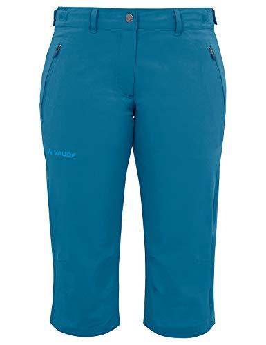 VAUDE Damen Hose Women's Farley Stretch Capri II, kingfisher, 40, 04578