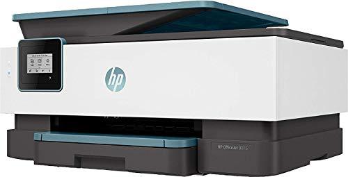 HP OfficeJet Pro 8015 - Impresora multifunción tinta, color, Wi-Fi, copia, escanéa, azul, compatible con Instant Ink (4KJ69B)
