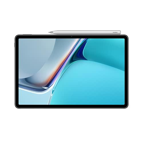 HUAWEI MatePad 11, Tablet mit HUAWEI M-Pencil, 11 Zoll,120 Hz 2,5 K FullView-Bildschirm, WiFi 6, 7250 mAh Akku, 128 GB/6 GB RAM, 4 Lautsprecher, HarmonyOS 2 mit AppGallery, Matte Gray, 30 Monate Garantie
