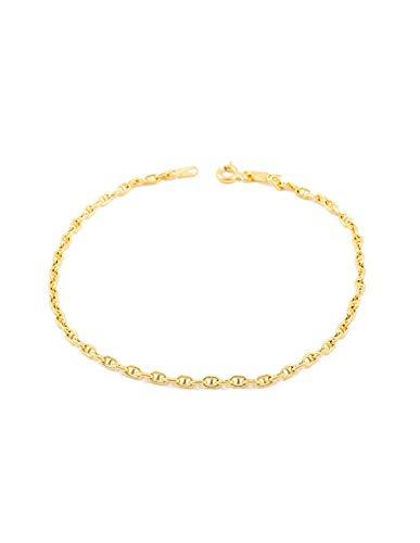 18ct geel goud anker armband