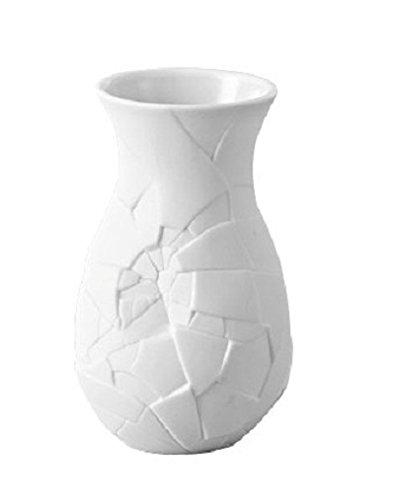 Rosenthal 14255-100102-26010 Miniaturvase Vase of Phases aus weißem Porzellan, Höhe 10 cm