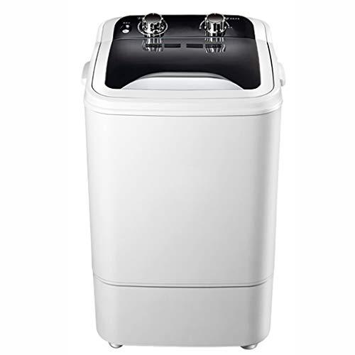 Lavatrice portatile Lavatrice Semi Automatica, Cestello Disidratante Rimovibile Mini Vasca Singola Lavatrice capacità di Lavaggio di 3 kg / 6,6 Libbre per Appartamento, Hotel, Casa.