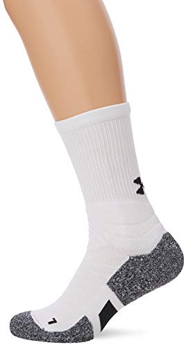 Under Armour UA Men's Drive Crew Chaussettes Homme, Blanc, M