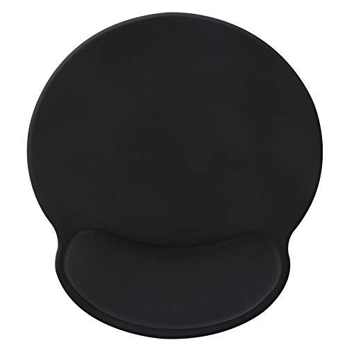 Tapis de repose-poignet,tapis de souris ergonomique avec mousse à mémoire de forme,tapis de support de poignet de souris en caoutchouc antidérapant pour les jeux de travail - black012