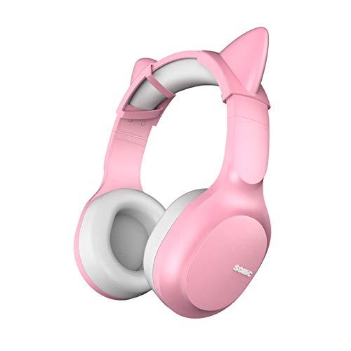 SOMIC Wireless Bluetooth Headphone with HI-FI Stereo, Soft Memory-Protein Earmuffs, 72H...