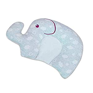 Baby Pillows Soft Newborns Head Shaping Flat Head Pillows Memory Foam Unisex Nursery Pillows Infant Support Sleeping Pillows Newborn Gift for Baby Girls