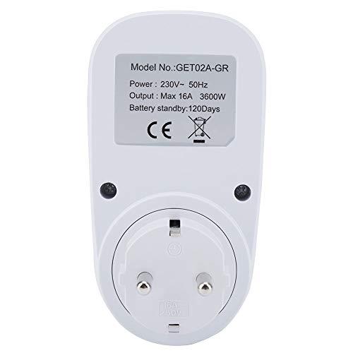 Enchufe del temporizador, asequible y de alta calidad Interruptor temporizador mecánico Temporizador mecánico Temporizador digital Ahorro de energía para enrutador(230 V UE)
