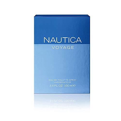 Eau de toilette en flacon vaporisateur Voyage de Nautica - 100 ml