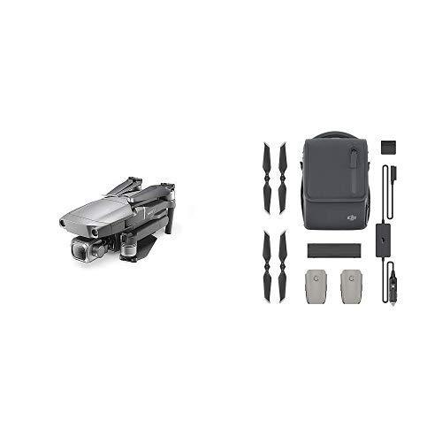 "DJI Mavic 2 Pro Drohne Quadrocopter mit Hasselblad Kamera HDR Video Variable Blendenöffnung 20MP 1\"" CMOS Sensor & Fly More Kit | Mit 2 intelligenten Flugakkus, 1 Mehrfachladegerät,"