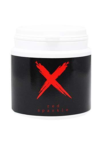 Xschischa 50g / Red Sparkle/Orientalischer Zauber/X Effekt/Ideal für Vasen,Gläser und Bowls
