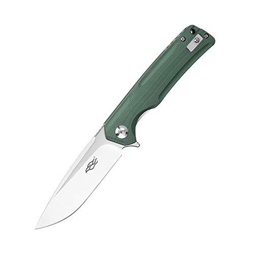 GANZO Firebird FH91-GB Pocket Folding Knife D2 Steel Blade G10 Handle Camping Fishing Hunting Outdoor EDC Knife (Green)