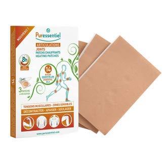 Puressentiel - Articulations et Muscles - Patchs Chauffants aux 14 Huiles Essentielles - Aide à décontracter et soulager les tension musculaires - Boîte de 3 patchs