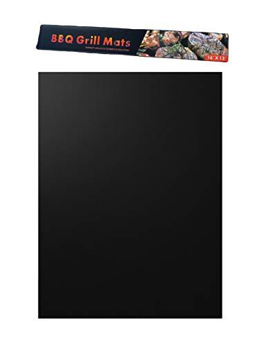 Bbeccue Tapis de Barbecue Griller Cuire Réutilisable Noir 33 * 40