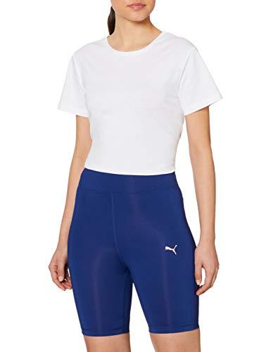 PUMA Train Favorite 7` Biker S Pantalones Cortos, Mujer, Elektro Blue, L