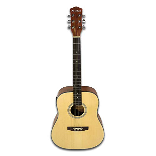 41' Dreadnought Electric Acoustic Guitar Built-In Tuner