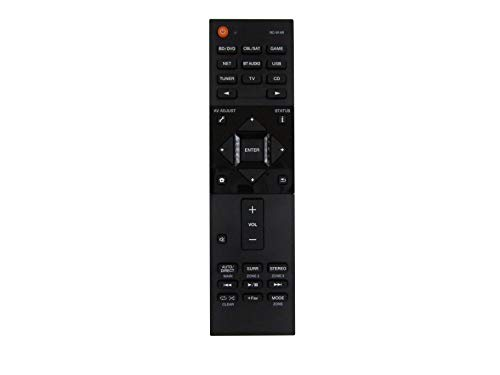 Easytry Remote Control for Pioneer Elite RC-914R SC-LX501 SC-LX502 VSX-1131-K VSX-LX101 VSX-831 VSX-831-K VSX-1131 VSX-1131-K VSX-LX301 VSX-LX104 4K Network Audio/Video AV Receiver
