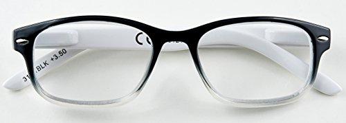 Zippo leesbril 31Z-B1, zwart, 3.5 dioptrieën