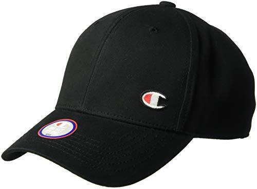 Champion Life Herren Classic Twill Hat with C Patch Baseball Cap, schwarz, Einheitsgröße
