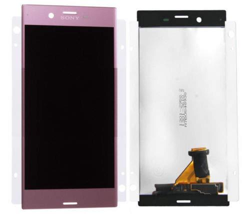 Origineel LCD-display voor Sony F8331 Xperia XZ touchscreen beeldscherm roze/plakfolie/gereedschap