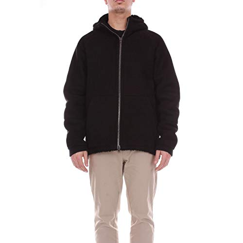 SALVATORE SANTORO Luxury Fashion Mens 35525BLACK Black Outerwear Jacket | Season Outlet