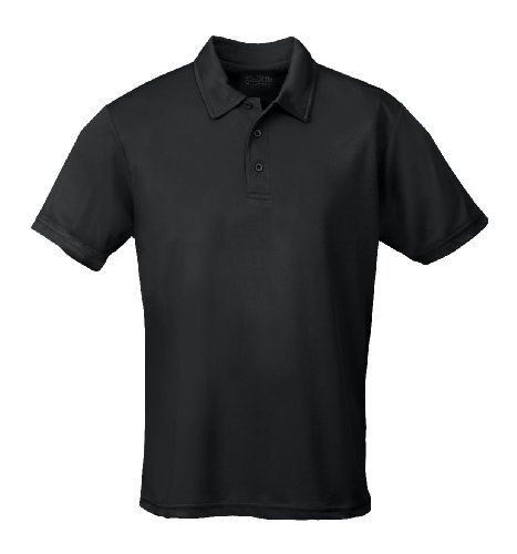 AWD Just Cool Polo respirant - Noir - L